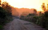 Droga o świcie
