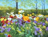spring garden, S.Stefanski