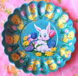 Happy Easter platter