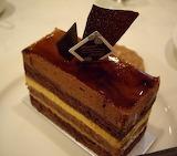 Japanese chocolate dessert