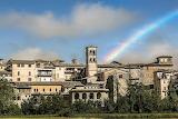Arcobaleno a Rieti
