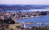 View from President's Hill Gosford c1980s Doug Parton Photo CCLS