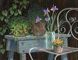 Iris e viole