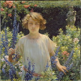Charles Courtney Curran, Betty Newell, 1923