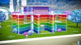 Colorful rainbow house 01