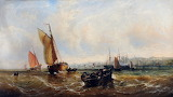 On the Mersey by John Callow