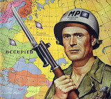 soldier, map