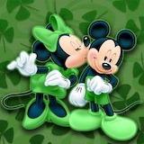 Mickey & Minnie St Patrick's Day