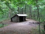 Mile 0261 Walnut Mountain Shelter
