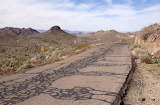 Old 66 to Oatman Cracked and Patched