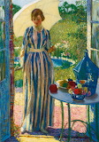 Woman in Doorway~ Raymond Perry Rogers Neilson fine art