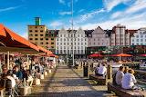 Norway, Bergen harbourside
