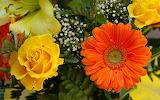 Garden Flowers Bouquet...