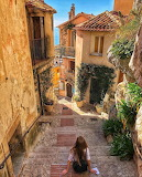 Eze sur mer-vieille ville