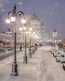 Winter lamps
