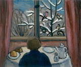 G. Münter, Breakfast of the Birds, 1934