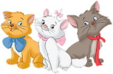 Disney_Aristocats_Kittens - online jigsaw puzzle - 12 pieces