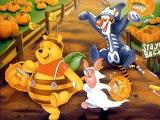 halloween-winnie-pooh-friends - online jigsaw puzzle - 63 pieces