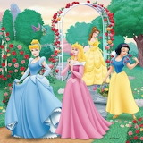 Printesele Disney2 - online jigsaw puzzle - 16 pieces