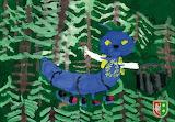 Rysunek - online jigsaw puzzle - 12 pieces