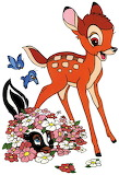 Bambi-Flower-1 - online jigsaw puzzle - 20 pieces