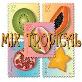 Mix Tropical 1 - online jigsaw puzzle - 36 pieces