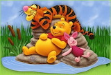 pooh39 - online jigsaw puzzle - 20 pieces