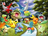 pokemon - online jigsaw puzzle - 80 pieces