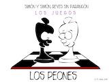 SIMÓN Y SIMÓN-JUEGOS-LOS PEONES - online jigsaw puzzle - 12 pieces