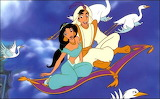 aladdin_and_jasmine-4902 - online jigsaw puzzle - 12 pieces