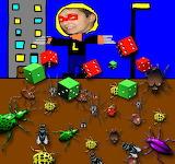 alex contra escarbats - online jigsaw puzzle - 42 pieces