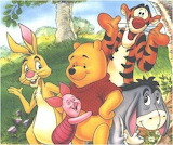 pooh_piglet_tiger_and_friends-1140 - online jigsaw puzzle - 42 pieces