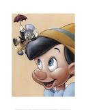 jiminy_cricket_and_pinocchio-5043 - online jigsaw puzzle - 20 pieces