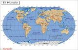 mapa mundi puzzle - online jigsaw puzzle - 18 pieces