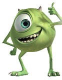 Mike-Wazowski - online jigsaw puzzle - 9 pieces