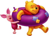 piglet_and_pooh_cartoon-5085 - online jigsaw puzzle - 20 pieces