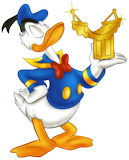 Donald-Duck-Hammock-Award - online jigsaw puzzle - 9 pieces