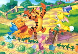 poohandfriends2 - online jigsaw puzzle - 20 pieces