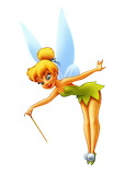 tinkerbell - online jigsaw puzzle - 12 pieces