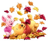 piglet_and_pooh_bear - online jigsaw puzzle - 20 pieces