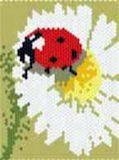 ladybug - online jigsaw puzzle - 35 pieces