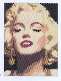 marilyn - online jigsaw puzzle - 80 pieces