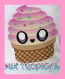 Mix tropical 2 - online jigsaw puzzle - 42 pieces