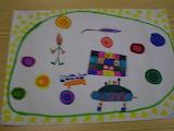 lendavad taldrikud - online jigsaw puzzle - 20 pieces
