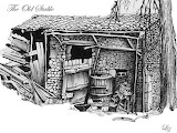 old_stable - online jigsaw puzzle - 35 pieces