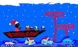 Santa goes to the children. - online jigsaw puzzle - 40 pieces