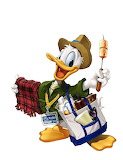 Donald-DisneyPark-SeasonPasport1 - online jigsaw puzzle - 42 pieces