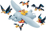 Dumbo-Flying - online jigsaw puzzle - 12 pieces