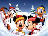 disney_christmas - online jigsaw puzzle - 35 pieces