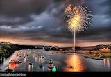 focs d'artifici - online jigsaw puzzle - 40 pieces